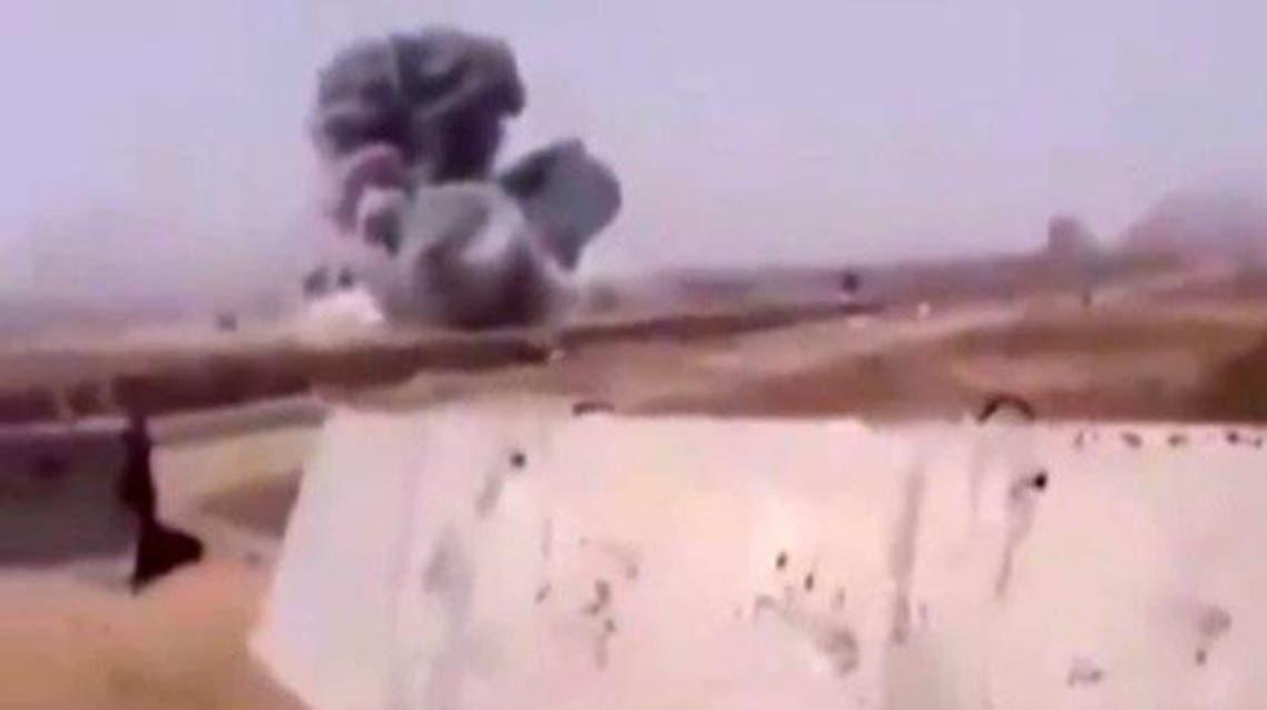 غارة التحالف التي استهدفت خطأ قوة عراقية في الفلوجة