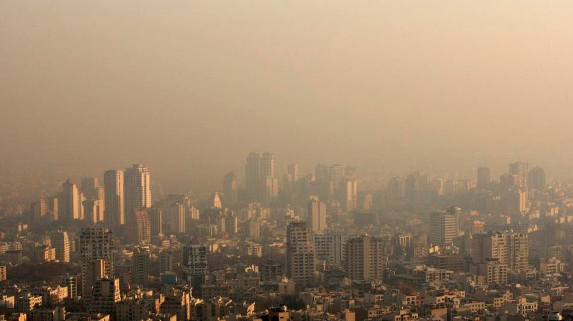 Rooftops shrouded in polluted air in Tehran, Iran. (File: AP)