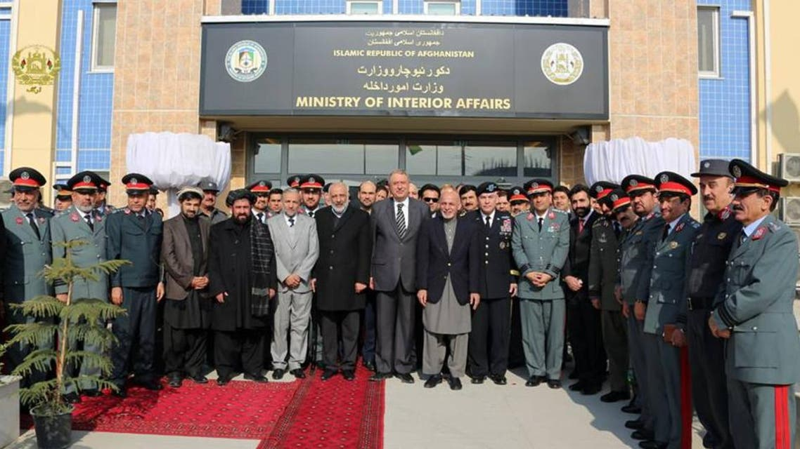 afghani minister of interior