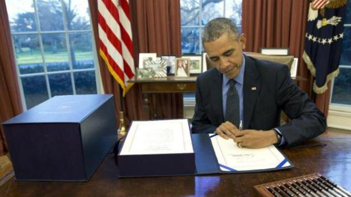 اوباما قانون محدودیت ویزا را امضا می کند