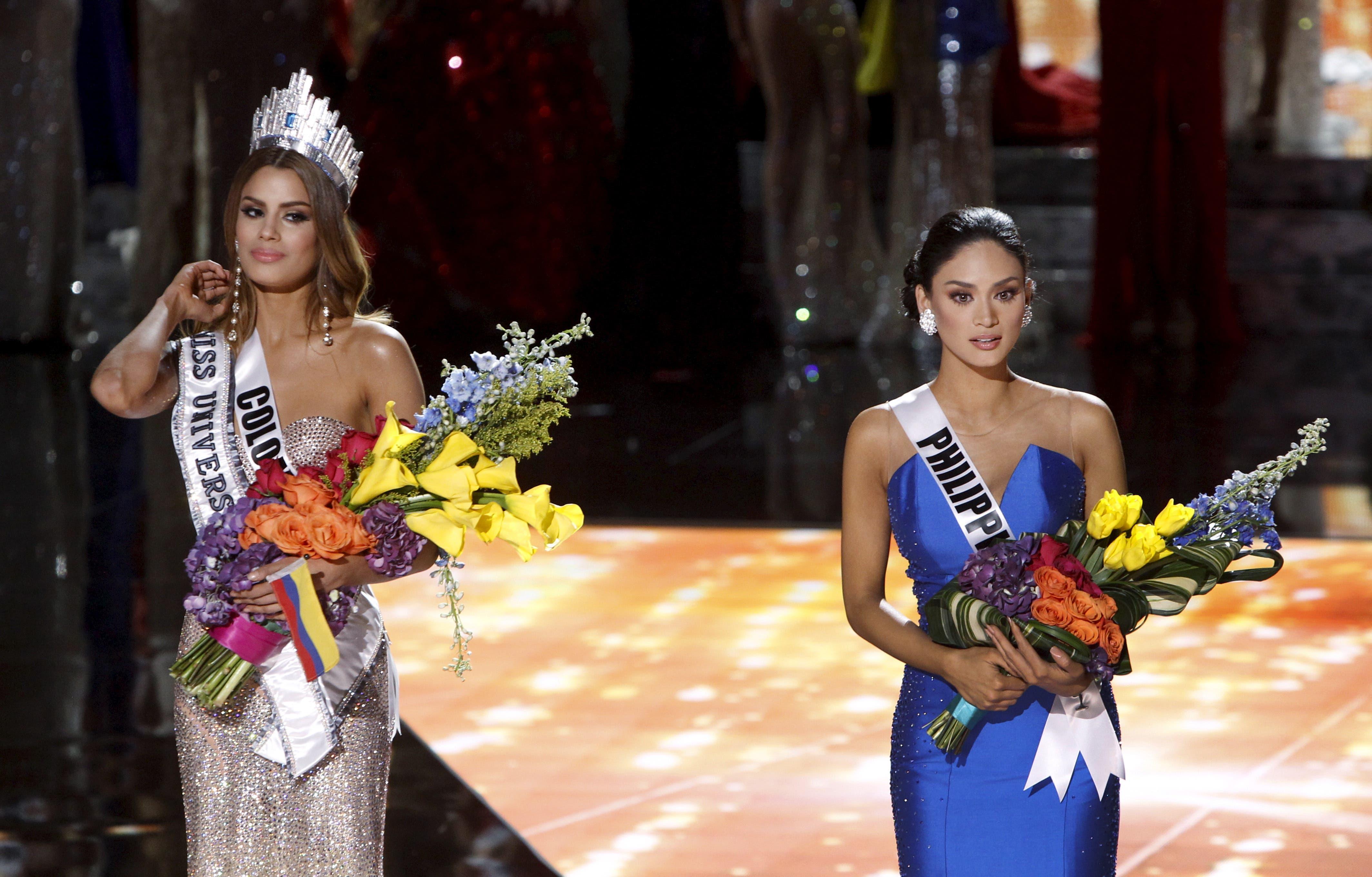 Miss Universe mix-up