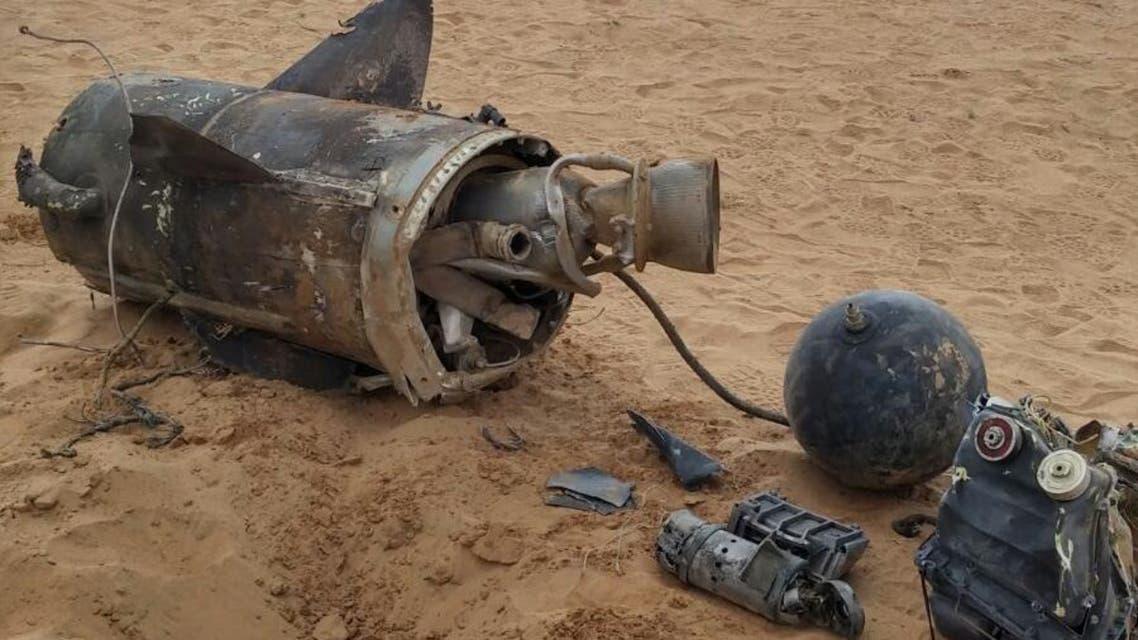 #السعودية تعترض صاروخاً ثانيا أطلقه الحوثيون
