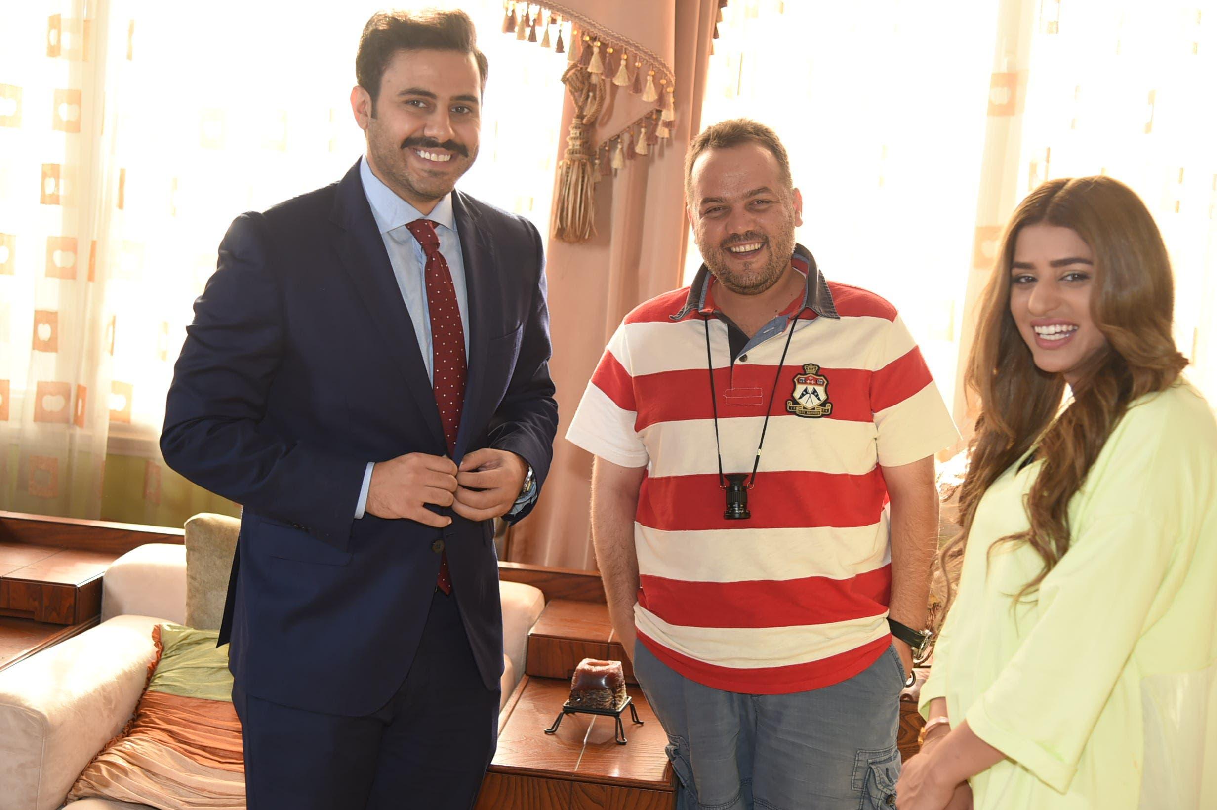 صمود مع عبدالله بوشهري والمخرج سائد الهواري