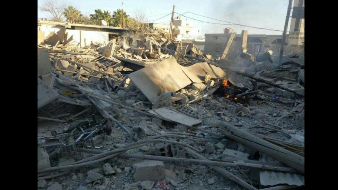 استهداف سوق شعبي في بزينة بالغوطة الشرقية