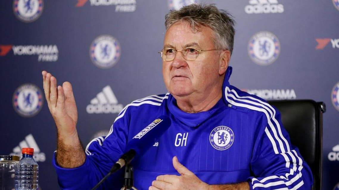 Football Soccer - Chelsea - Guus Hiddink Press Conference - Chelsea Training Ground - 23/12/15   Reuters
