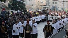 بیت لحم میں تشدد کے سائے میں کرسمس کی پھیکی تقریبات
