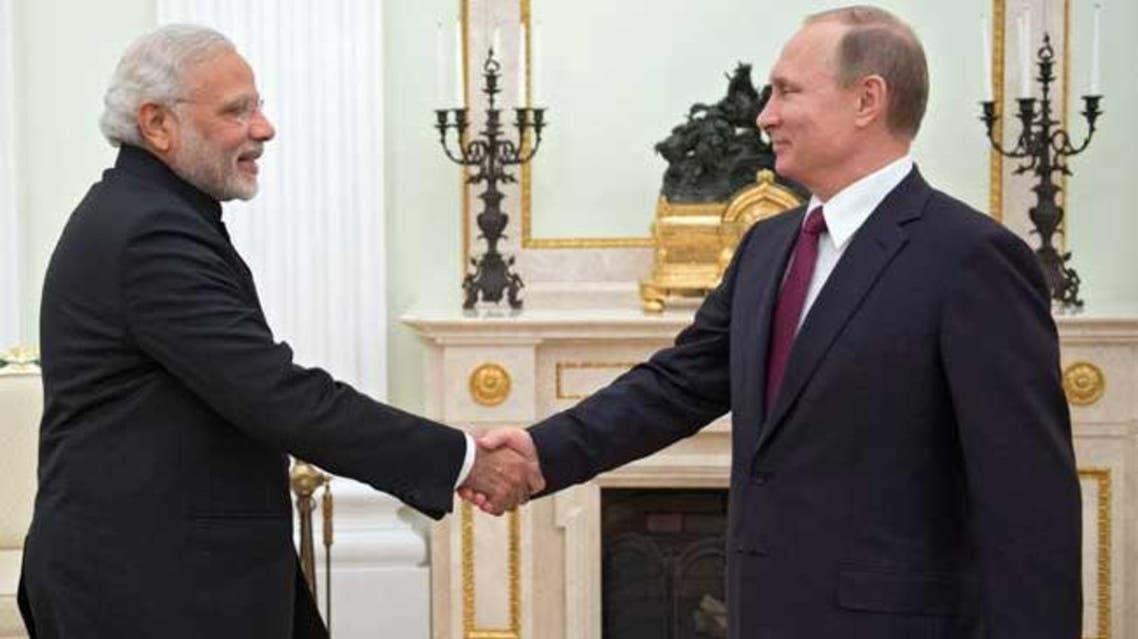 Indian PM With Putin