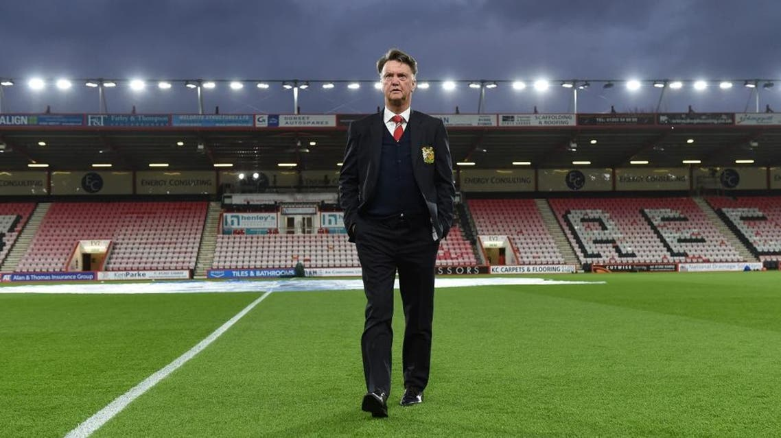 Football Soccer - AFC Bournemouth v Manchester United - Barclays Premier League - Vitality Stadium - 12/12/15 Manchester United manager Louis van Gaal before the match   Reuters