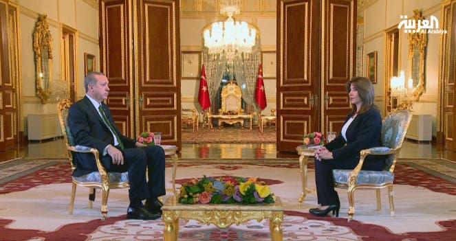 مقابلة رجب طيب أردوغان الرئيس التركي مع منتهى الرمحي على العربية