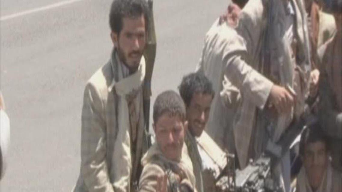 THUMBNAIL_ الحوثي يحرض الميليشيات على القتال