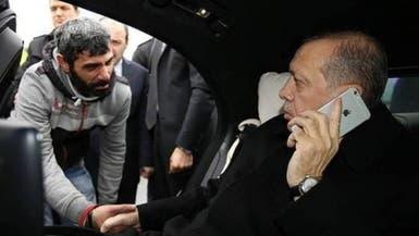 #أردوغان ينقذ مشرفا على الانتحار من جسر في اسطنبول