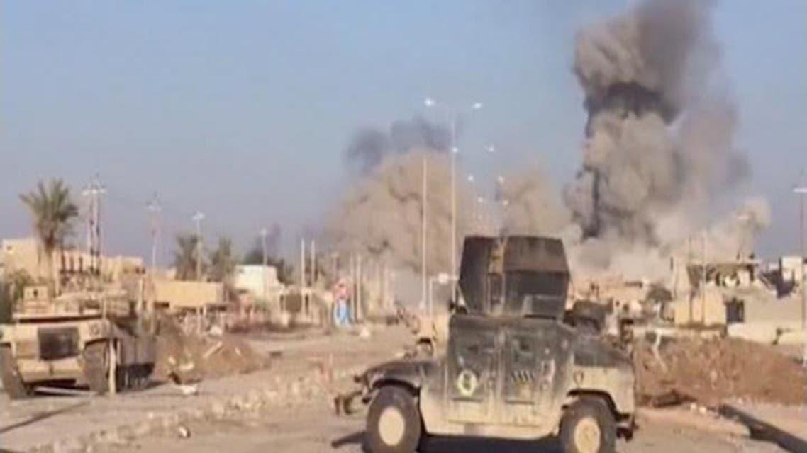 THUMBNAIL_ القوات المشتركة تتقدم في أحياء وسط الرمادي