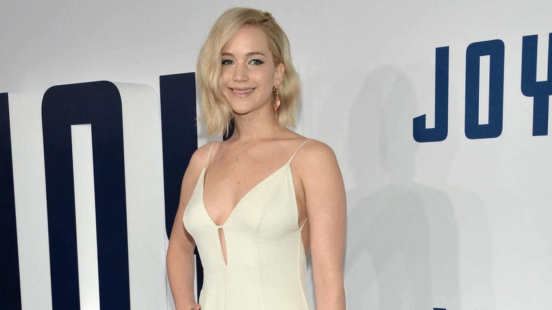 """Jennifer Lawrence attends the world premiere of """"Joy"""" at the Ziegfeld Theatre on Sunday, Dec. 13, 2015, in New York."""