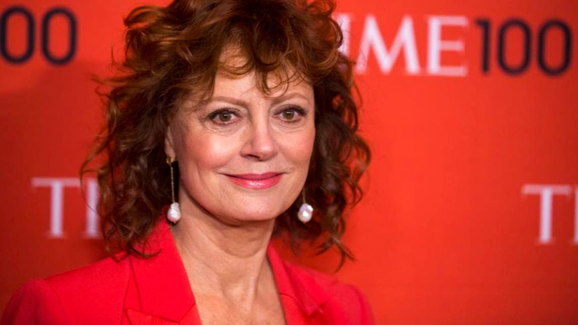 Actress Susan Sarandon arrives at the Time 100 gala celebrating the magazine's naming of the 100 most influential people in the world for the past year in New York April 29, 2014. (Reuters)