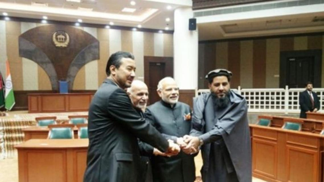 afghan parliament opening