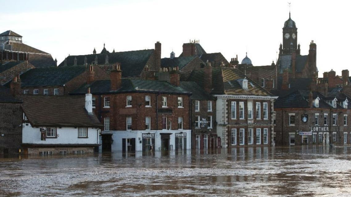 Nearly 250 flood warnings and alerts are in place in England and Wales, 24 of them severe, signalling a risk to life. The army has already been deployed in recent days in some areas | AFP