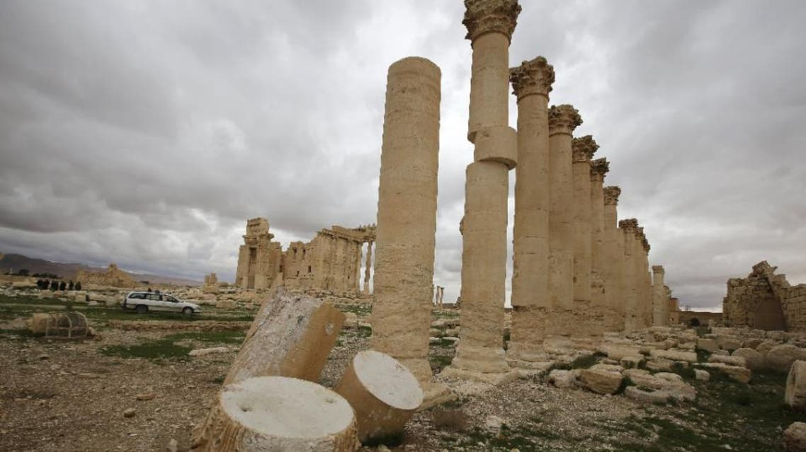 """ISIS seized Palmyra, a UNESCO World Heritage Site northeast of Damascus known as the """"Pearl of the Desert"""", in May and beheaded its 82-year-old former antiquities chief three months later (File Photo: AFP)"""