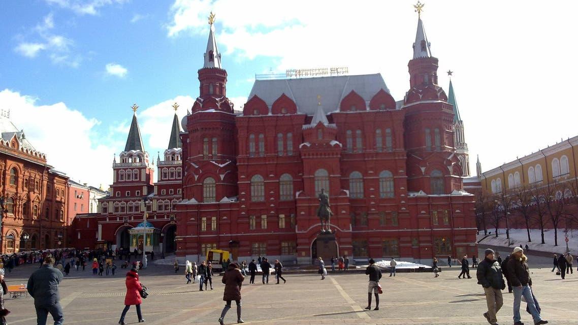 الساحة الحمراء موسكو
