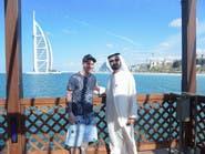 #ميسي ينشر صورة له مع الشيخ محمد بن راشد في دبي