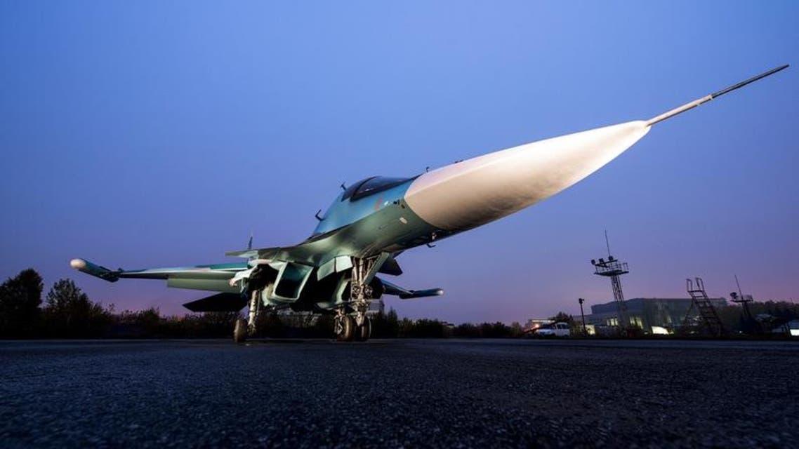 طائرة حربية روسية روسيا سوريا