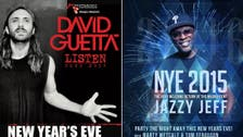 David Guetta, Jazzy Jeff among Dubai's top 5 New Year's Eve parties