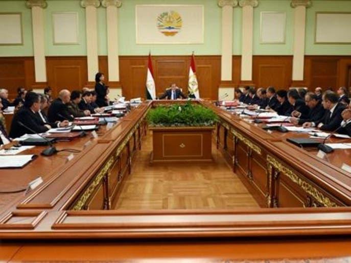 مجلس نوبتی حکومت جمهوری تاجیکستان برگزار شد