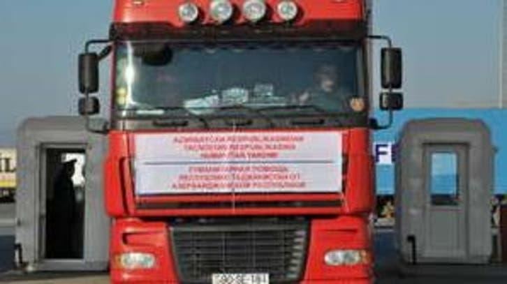 ارسال کمک های بشردوستانه رئیس جمهوری آذربایجان به تاجیکستان