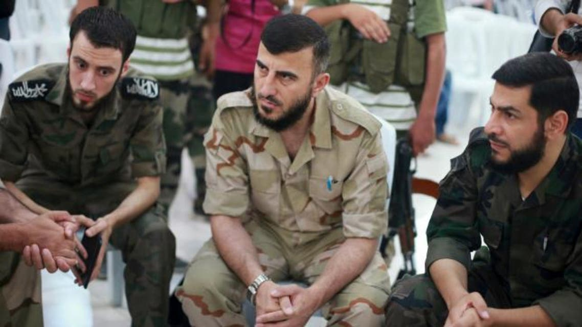 Syrian rebel chief Zahran Alloush, was the leader of Jaysh al Islam who commanded thousands of fighters. (Reuters)