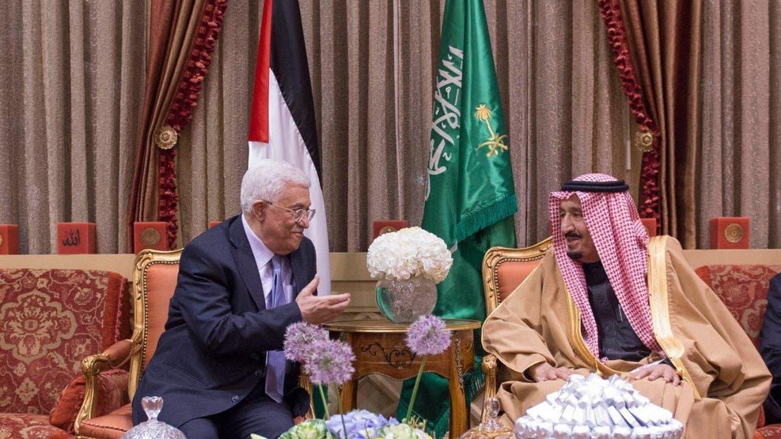 #الملك_سلمان يستقبل الرئيس الفلسطيني محمود عباس