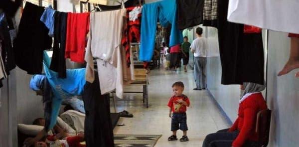 صورة نشرت مع التقرير الذي صدر من داخل العاصمة السورية