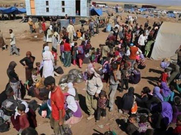 3.5 مليون عراقي في عداد المهجرين عام 2015