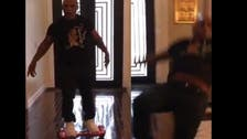 Mike Tyson gets KO'd by daughter's hoverboard