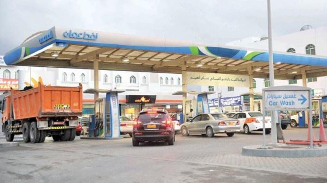 محطة وقود سلطنة عمان نفط