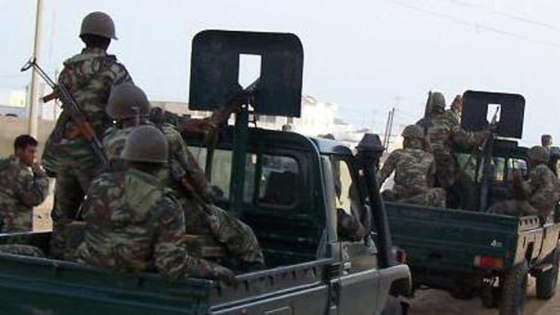 جنود من موريتانيا في افريقيا الوسطى