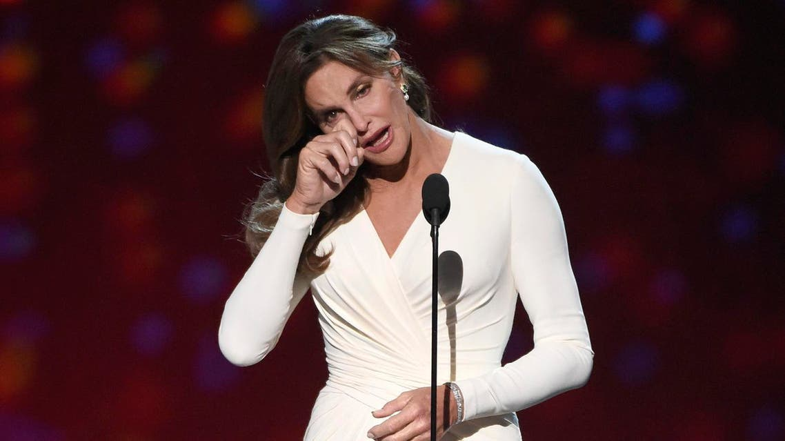 Caitlyn Jenner accepts the Arthur Ashe award for courage at the ESPY Awards at the Microsoft Theater. (File photo: AP)