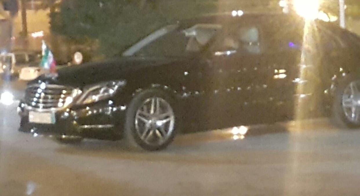 صورة سيارة السفير الإيراني