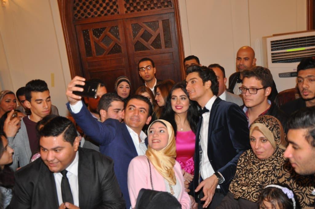 هبة مجدي ومحمد محسن