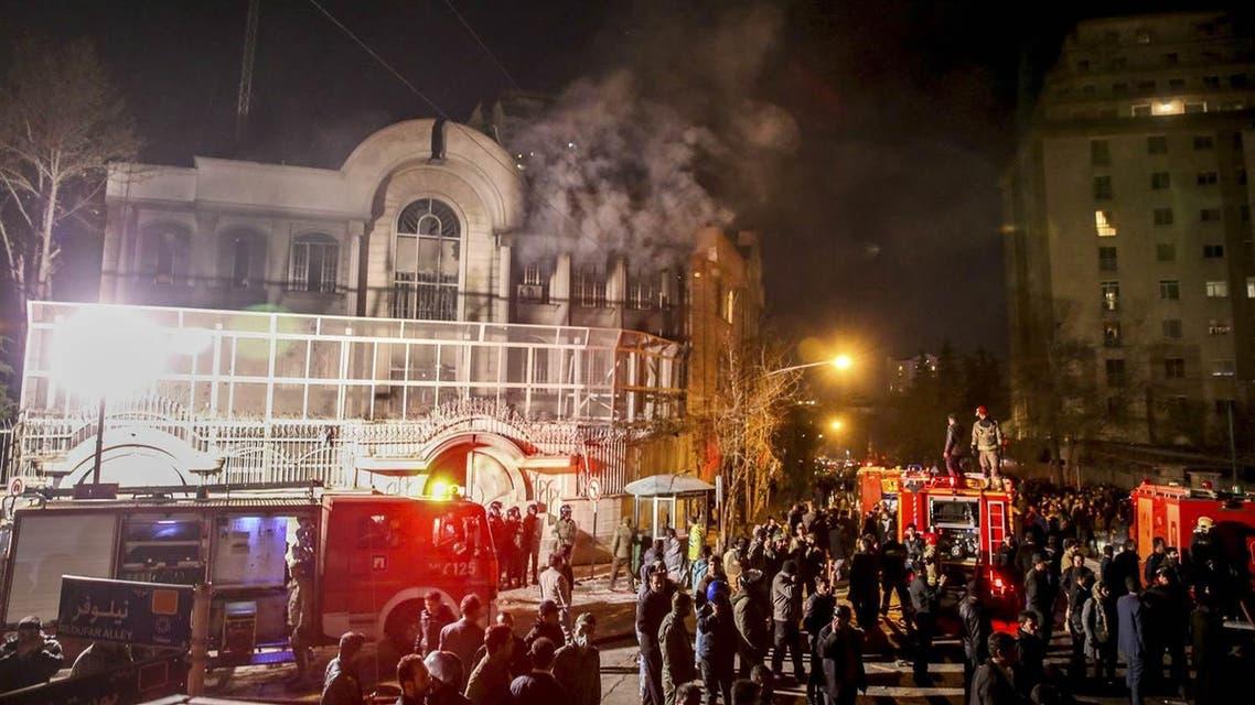 إحراق السفارة السعودية في طهران