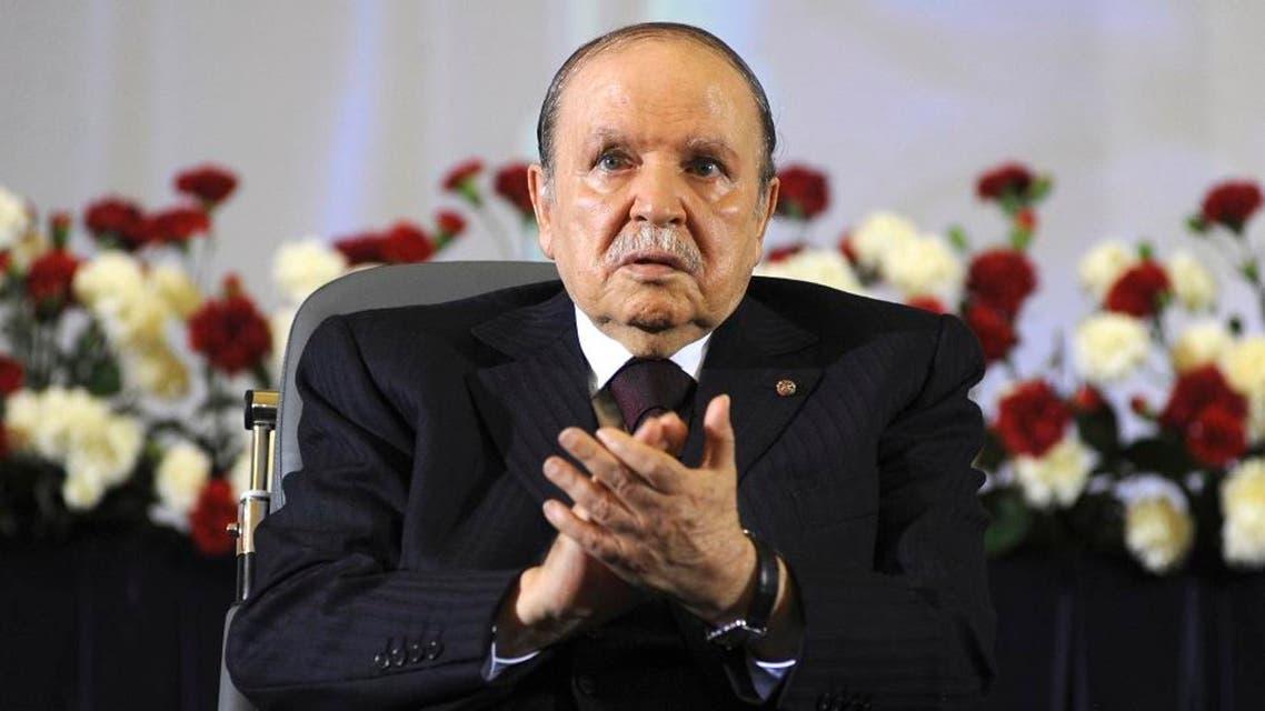 Algerian President Abdelaziz Bouteflika AP