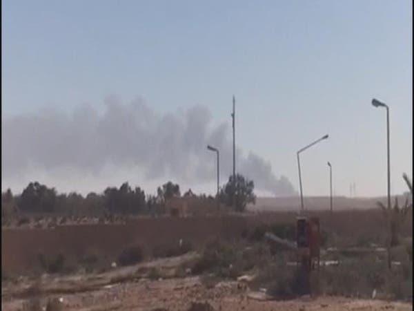 ليبيا.. طيران مجهول يقصف بوابة لداعش قرب الهلال النفطي