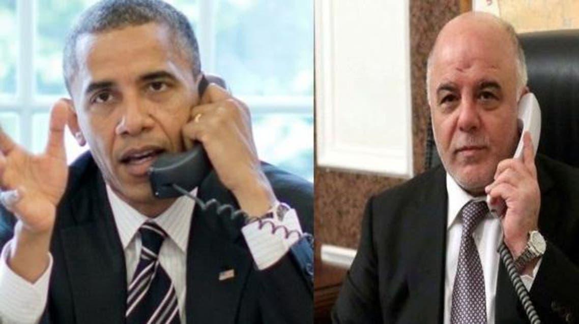 أوباما والعبادي