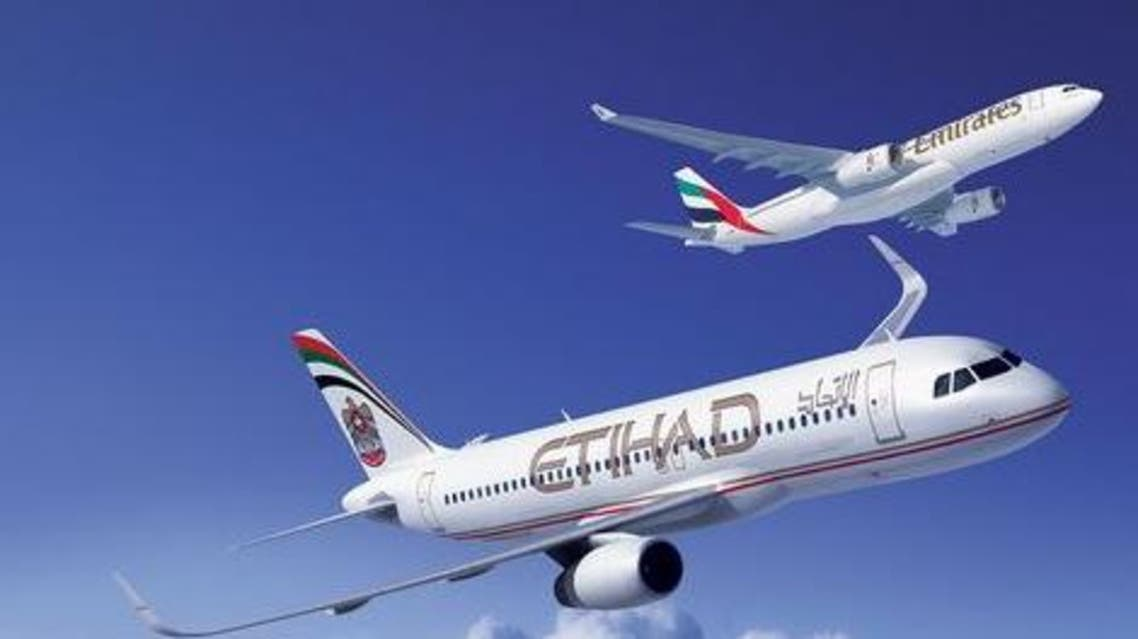 طيران الإتحاد وطيران الإمارات