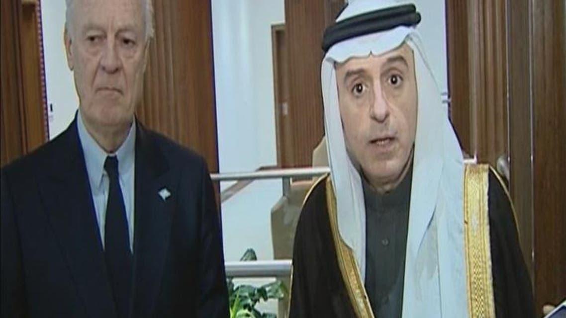 THUMBNAIL_ الجبير: #السعودية ستواصل العمل لحل الأزمة السورية