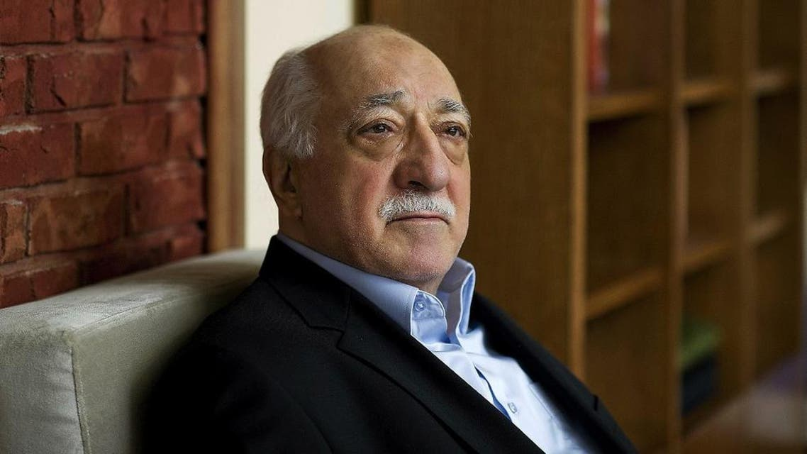 In this March 15, 2014 file photo, Turkish Islamic preacher Fethullah Gulen is pictured at his residence in Saylorsburg, Pennsylvania, United States. Police conducted raids in a dozen Turkish cities Sunday, detaining at least 24 people — including journalists, TV producers and police — known to be close to a movement led by a U.S.-based moderate Islamic cleric who is a strong critic of President Recep Tayyip Erdogan. It was the latest crackdown on cleric Fethullah Gulen's movement, which the government has accused of orchestrating an alleged plot to try to bring it down. (AP Photo/Selahattin Sevi, File)