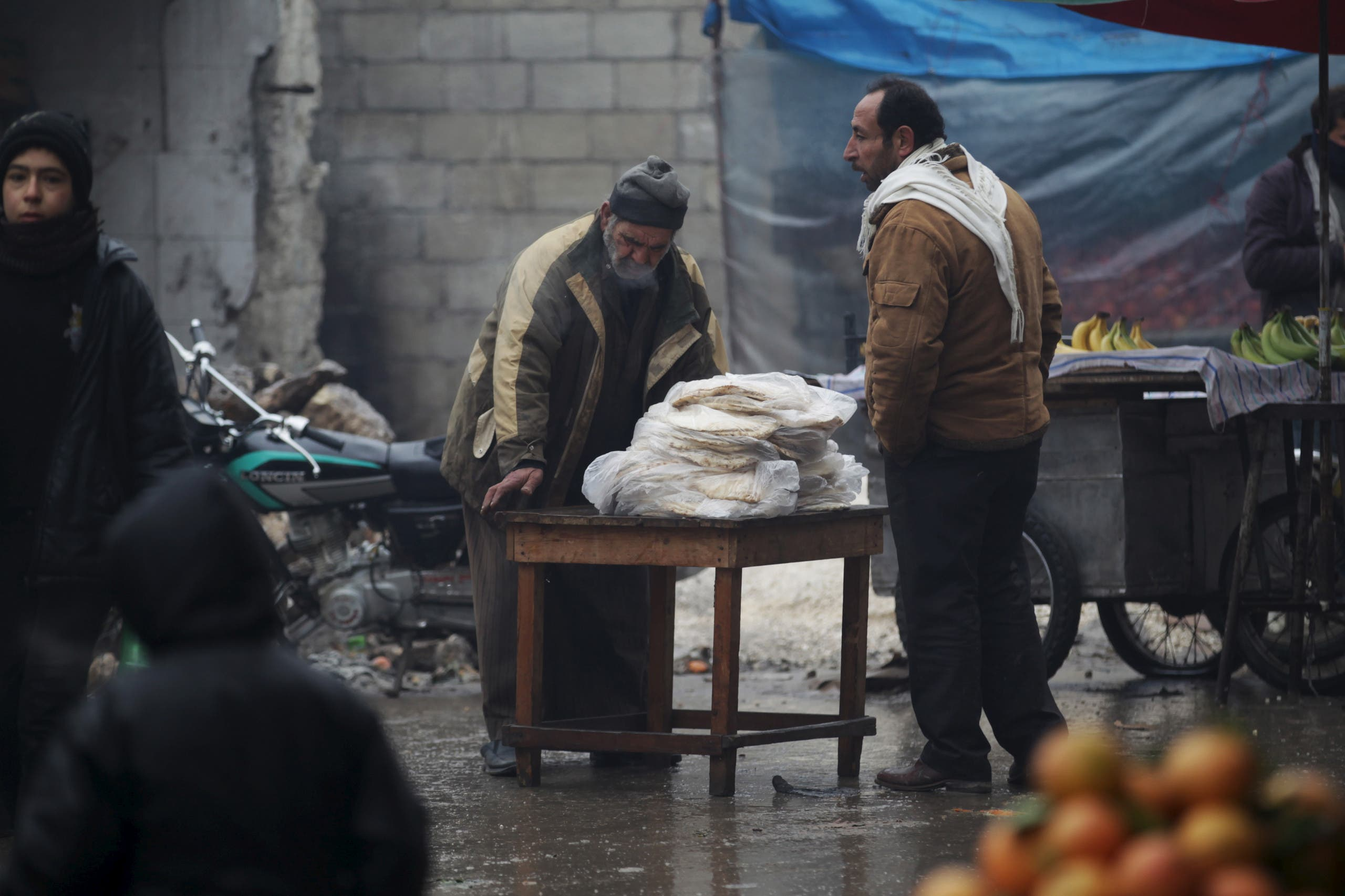 Winter in Syria