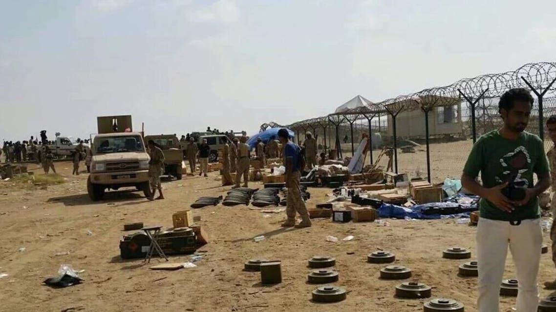 بالصور.. غنائم المقاومة في ميناء ميدي في اليمن
