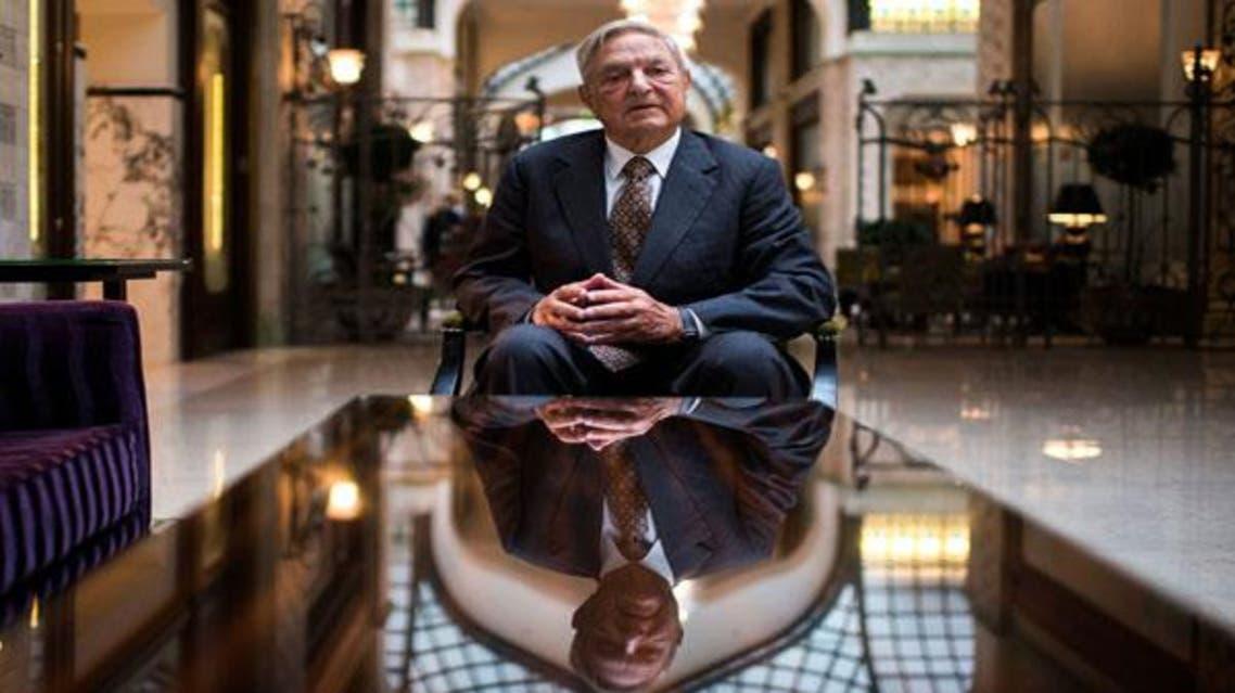 الملياردير العالمي جورج سوروس