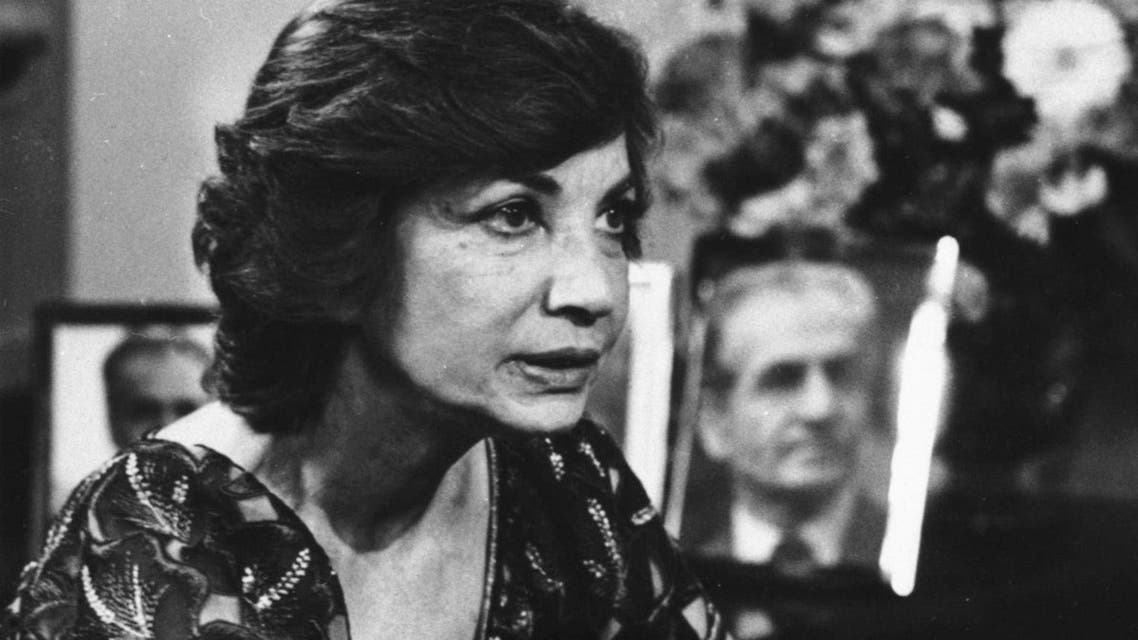 """In this April 17, 1980 file photo, Ashraf Pahlavi, twin sister of the deposed Shah of Iran, is interviewed for ABC-TV's """"Good Morning America,"""" in New York."""