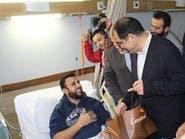 """وزير إيراني يتمنى لجرحى حزب الله """"العودة لسوريا"""""""