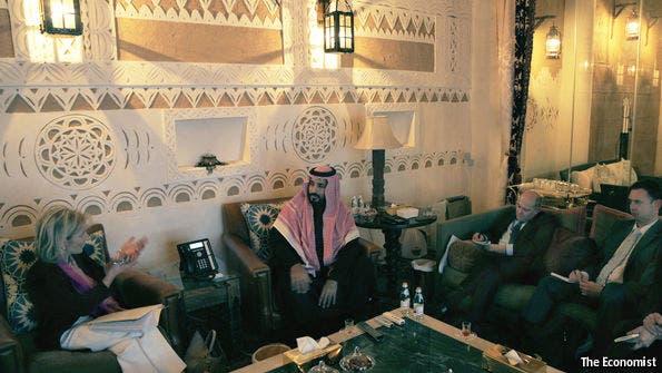 محمد بن سلمان the economist